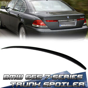 Painted For Bmw 7 Series E65 Pre Facelift M3 Type Trunk Spoiler 02 08 745i Ebay