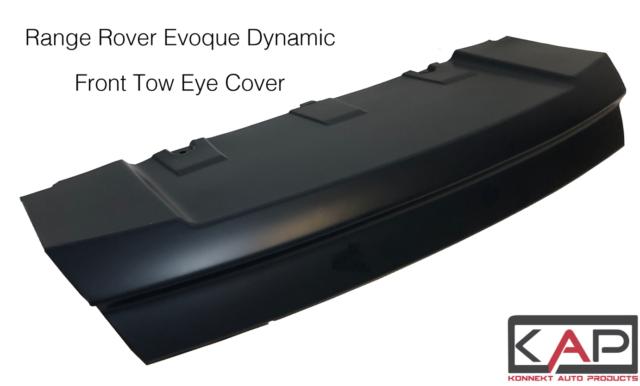 Vorne Stoßstange Abschleppöse Abdeckung Für Range Rover Evoque Dynamic Schwarz