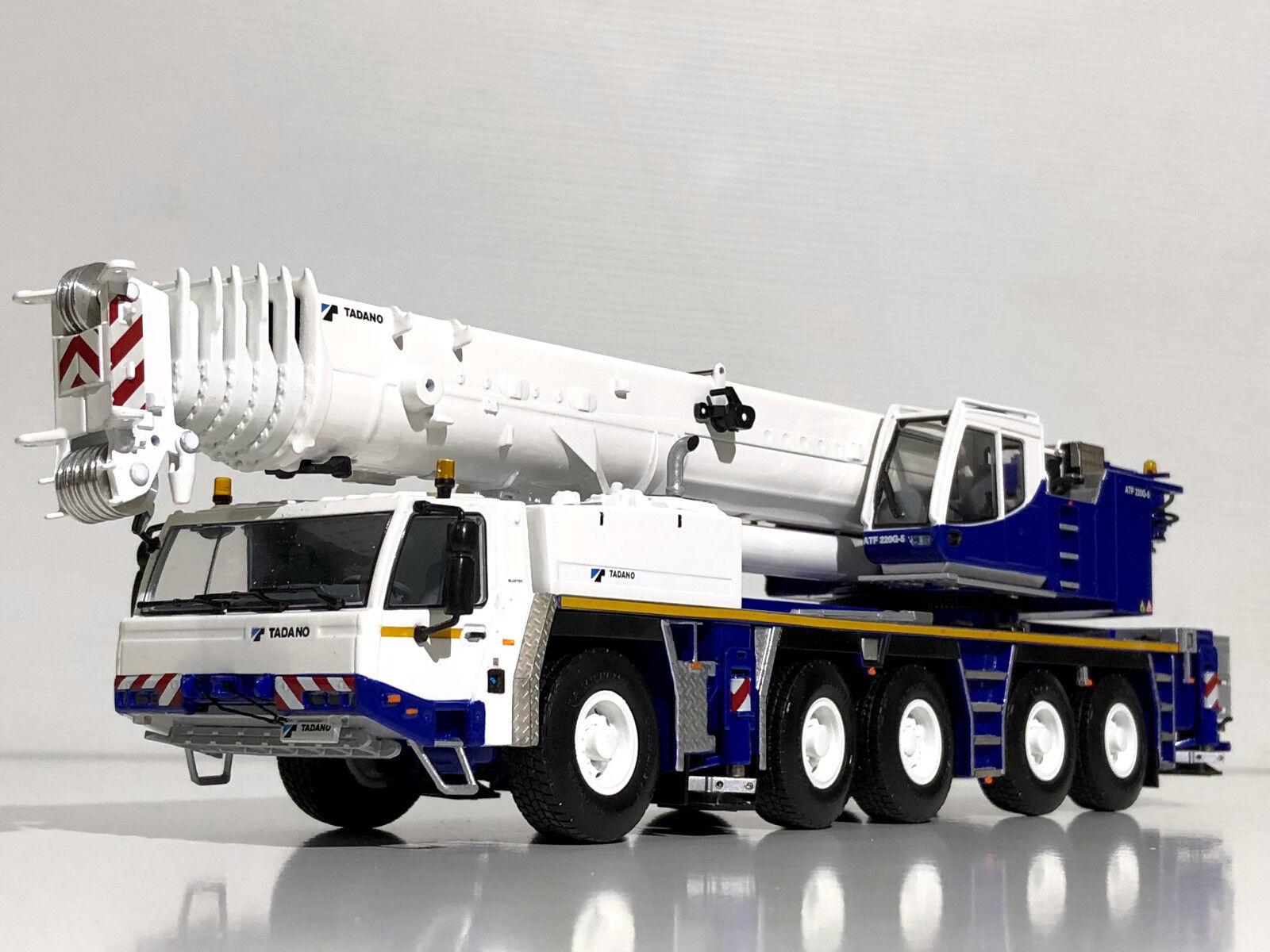 WSI TADANO FAUN ATF 220G-5 Crane Euro 3,NEW 2018