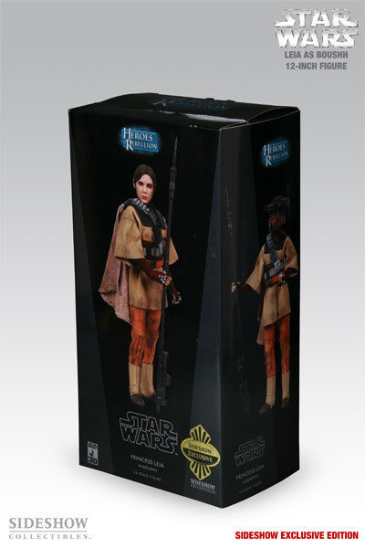 SIDESHOW COLLECTIBLES_Star Wars_LEIA as BOUSHH 12  fig_Exclusive Limited Edition