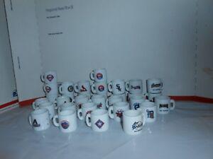 1-HTF-MLB-BASEBALL-MINI-PORCELAIN-MUG-CUP-YOU-CHOOSE-TEAM-5-BONUS-CARDS