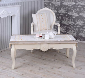 beistelltisch antik couchtisch landhausstil tisch shabby chic ebay. Black Bedroom Furniture Sets. Home Design Ideas
