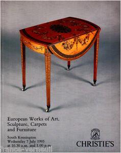 Acheter Pas Cher Christie's English European Furniture 18th 19th Century George Iii Victorian...
