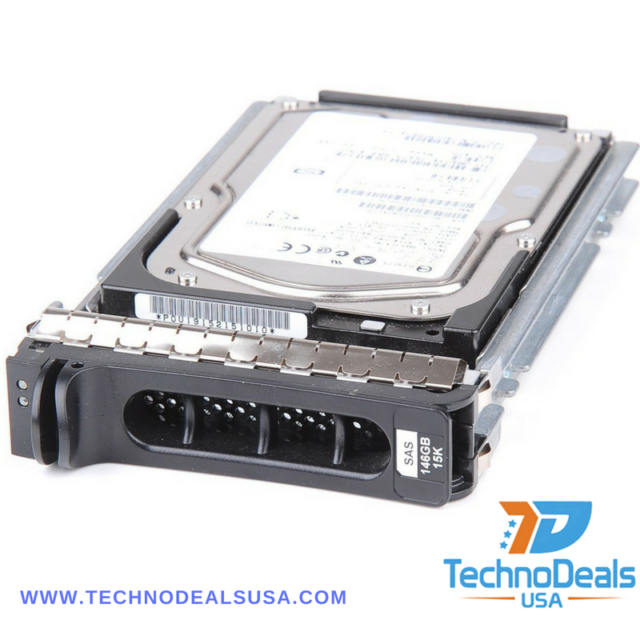 DELL M8034 MAX3147RC CA06697-B40300DL 146GB 15K SAS HOT PLUG HARD DRIVE