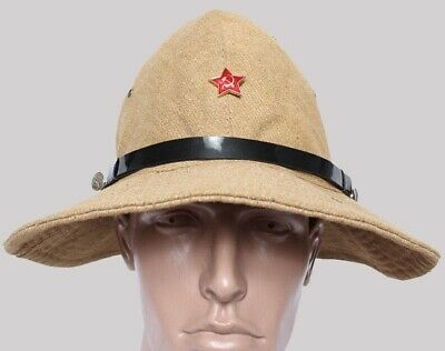Russian Army Bonie hat Panama Afghanka type sans color Repro copy good quality witih stamp new cotton 100/%