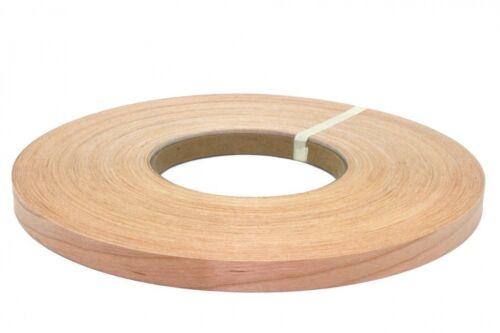 """Cherry preglued 1/""""x50/' wood veneer edgebanding"""