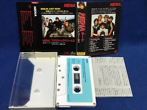NENA S T Japan Cassette Tape 25 6P 237 99 Luft Balloons 1983 Red