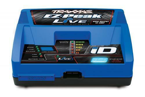 100W TRAXXAS EZ picco Live TRX2971T NiMH//LiPo CARICABATTERIE ID Bluetooth