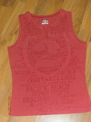 *esprit Sports* Shirt* Fitnessshirt* Rot* Gr.36* Modische Muster