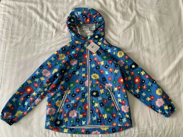 NWT HANNA ANDERSSON WIND AT YOUR BACK ANORAK JACKET BLUE 120 6//7 OR 150 12