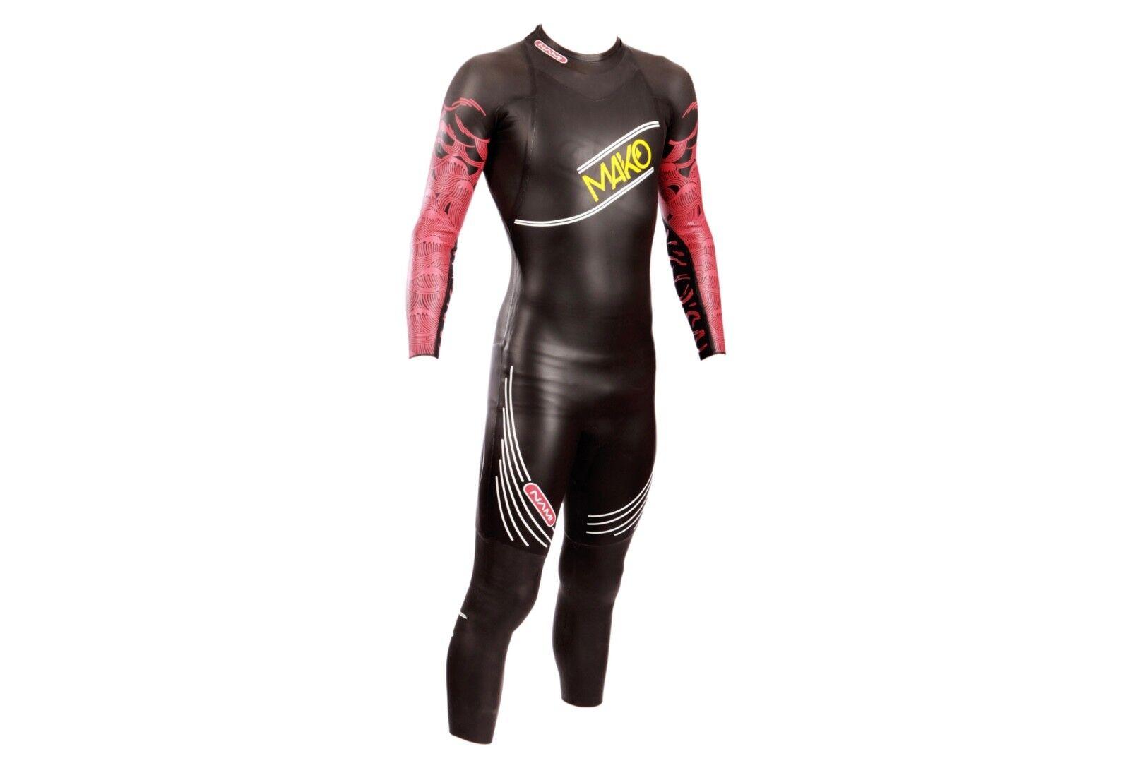 MAKO NAMI 2017 Wetsuit Triathlon Swimming Diving Surfing Men's M RRP  Water