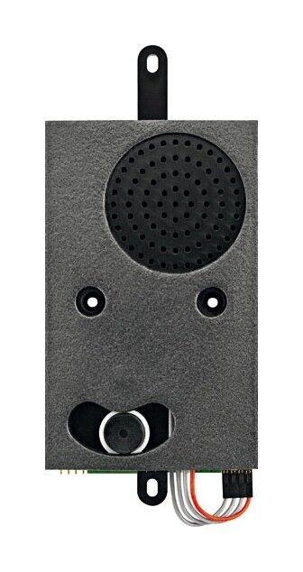 Ritto Türlautsprecher schwarz Einbau Bus-System 70x152x20mm - 1492102 | Diversified In Packaging