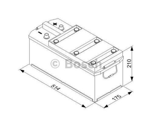 BOSCH Starter Battery T3 0 092 T30 450