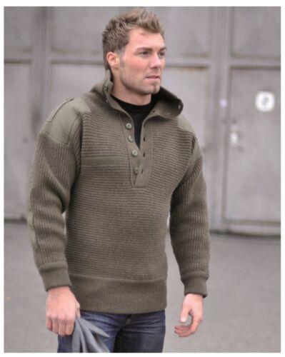 NEU Österr ALPIN Pullover WOLLE 100/% Bundeswehr Arbeitspullover Pulli 48-60