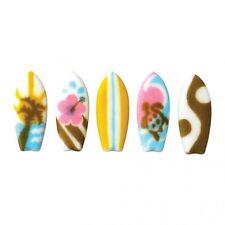 Sugar Decorations Cookie Cake Cupcake Swim SURF BOARDS 12 ct.