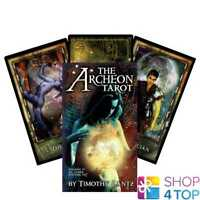 THE ARCHEON TAROT CARDS DECK BY TIMOTHY LANTZ ORACLE ESOTERIC TELLING NEW