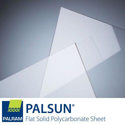 POLICARBONATO trasparente 1 mm - A3 - 2 pcs - PALSUN® UV tipo LEXAN 420x 297