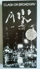 CLASH ON BROADWAY 3 CD BOX SET Book Punk  Rock Band