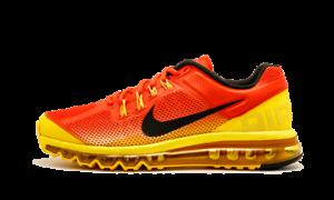 Nike air max   2013 premio 579954 807 squadra arancio / giallo nero-tour Uomo sz 10