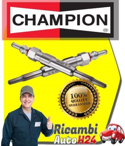 182 KIT 2 CANDELETTE CHAMPION FIAT BRAVA 1.9 TD 100 S 100CV B604