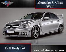 Mercedes C Class W204 Wald Full Body Kit