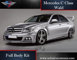 mercedes classe c w204  Mercedes C Class W204 Wald Full Body Kit | eBay