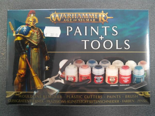 Warhammer - Age of Sigmar - AOS Paints + Tools 80-17 99170299018