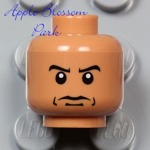 LEGO Indiana Jones Medium FLESH MINIFIG HEAD w//Painted Skeleton Skull Mask 7196
