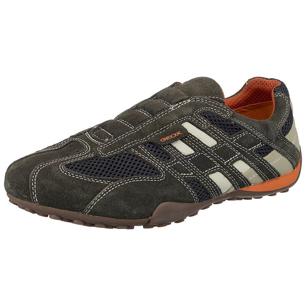 Geox Respira Uomo Snake U4207l C1300 Hommes Sneaker Chaussures Basses Pantoufles