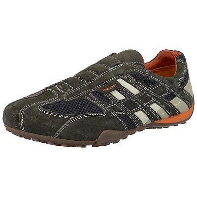Geox Respira Uomo Snake U4207L C1300 Herren Sneaker Halbschuhe Slipper | eBay