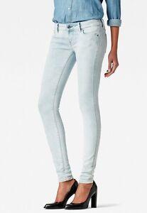 Details zu G Star Midge Cody Mid Skinny WMN Jeans, LT Aged, W30,31,32 L30