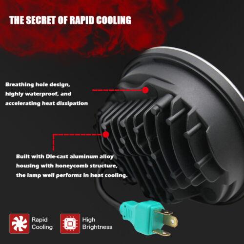"DOT 5-3//4/"" 5.75 LED Headlight Sealed Headlamp for Yamaha V-Star XVS 650 950 1100"
