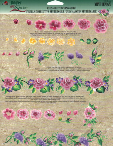 Roses//Mini Designs RTG Guide #1136 by Donna Dewberry