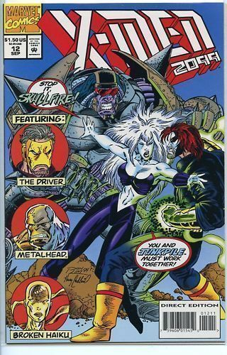 X-Men 2099 # 12 near mint 1993 series comic book