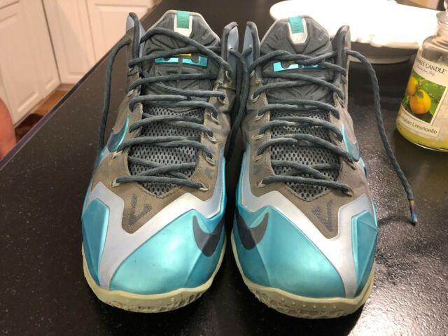 the latest 3fd42 4500a Nike Lebron 11 XI Gamma Blue Armory Slate Mens Size 10.5