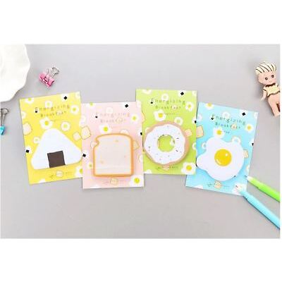 30pg Breakfast Food (Sushi Bread Egg Donut) Note Post-it Note/ Memo/Writing Pad