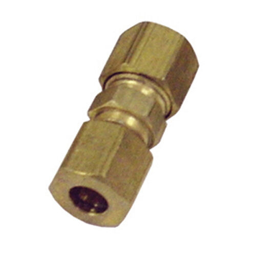 """K Tool 05115 Brass Compression Union 1//4/"""" Nylon to Steel Includes 5-Piece s"""