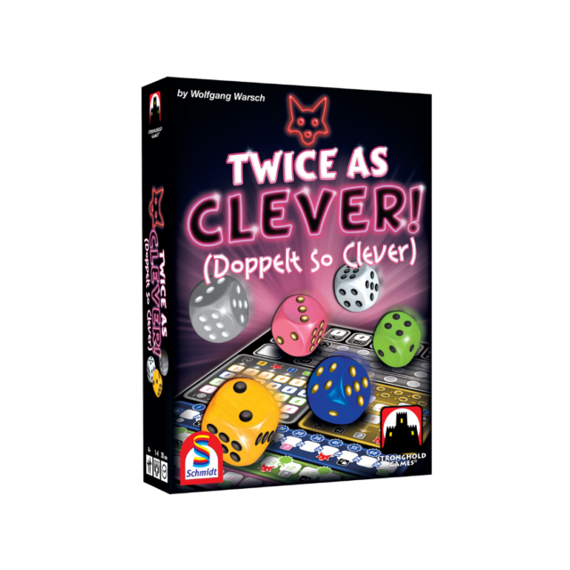 Twice As Clever (Doppelt So Clever) Dice Game Stronghold Games SHG 6026 Family