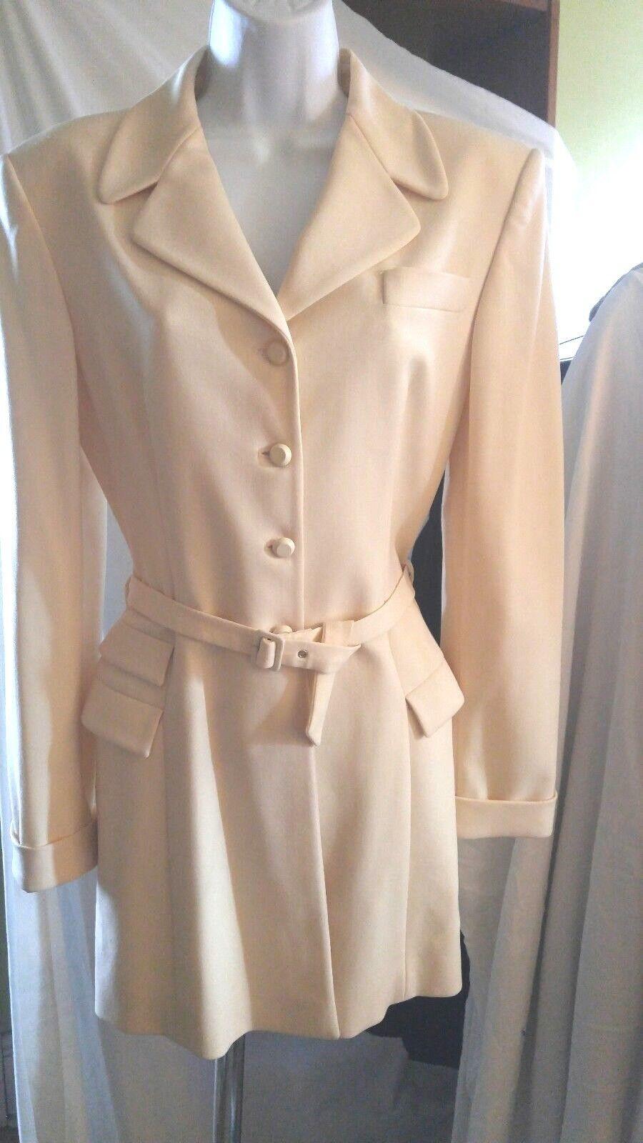 ANNA SUI 90s Vintage Wool Jacket M $550 - image 1