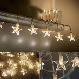 Battery Star Fairy Lights 30 LEDs Xmas Party