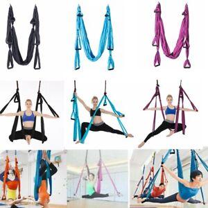 Aerial Yoga Schaukel Hängematte Antigravität Yoga Inversion Fitness Gymnastik