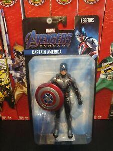 "Marvel Legends Captain America Avengers End game 6""  Hasbro Action Figure sealed"
