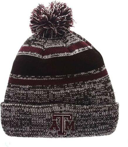 One Size Zephyr NCAA Texas A/&M Aggies Men/'s Granite Knit Beanie