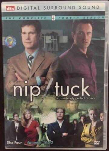1 of 1 - Nip/Tuck : Season 4 (DVD, 2008) Episodes 10 - 12 R4 Australia VG Free Shipping