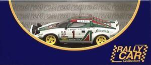 1/43 IXO RCCALT18 Lancia Stratos Winners 1977 Monte Carlo #1 Munari & Maiga New