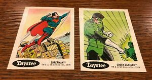 1978 Taystee Bread Stickers Set of 30 - DC Comics - Nice Condition
