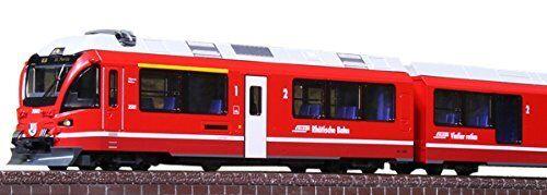 KATO N Gage 10 -1318 Rhaetian järnvägway Bernina Express set från japan