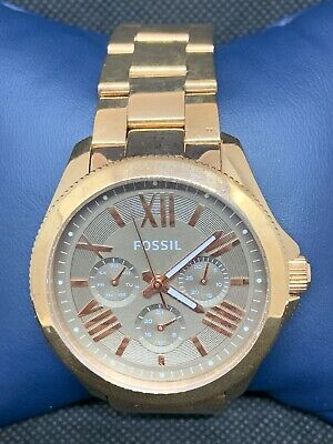a2253d1cf9bb Fossil AM4533 Women s Watch Ladies Quartz Analog Rose Gold Stainless Steel  O444
