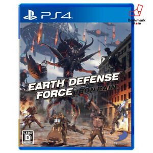 NEW-PS4-EARTH-DEFENSE-FORCE-IRON-RAIN-PlayStation-4-import-Japan-F-S-Tracking