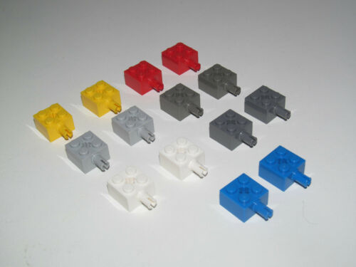 Lego ® Lot x2 Briques Piton Latéral Brick 2x2 Pin /& Axle hole Choose Color 6232